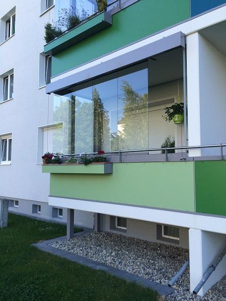 Balkon-Verglasung