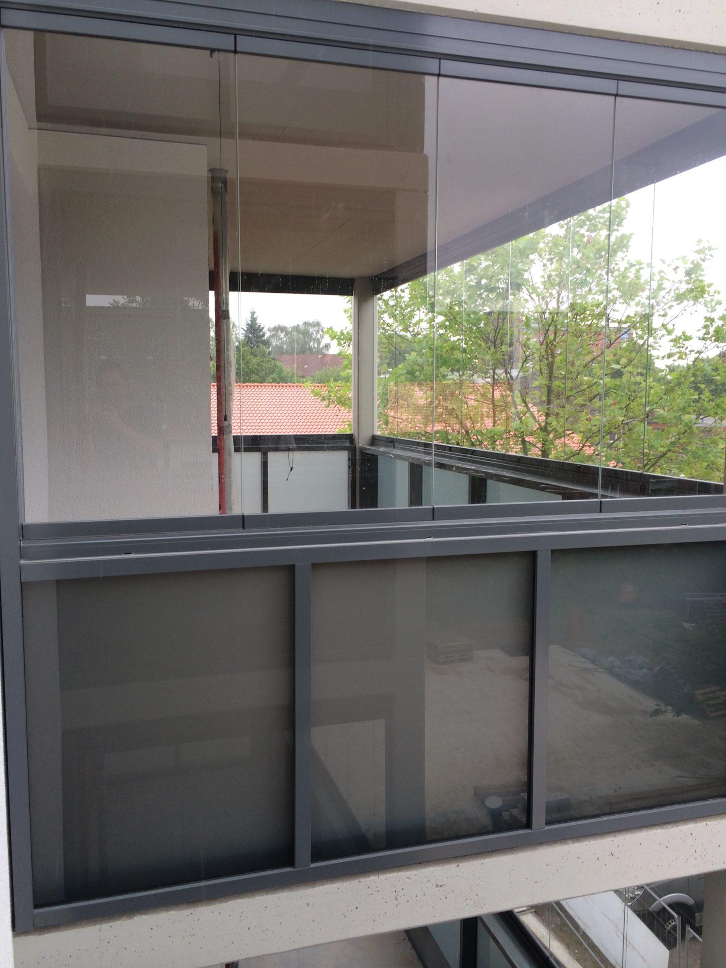 Balkon-Verglasungen